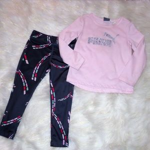 712 Puma Outfit Girls